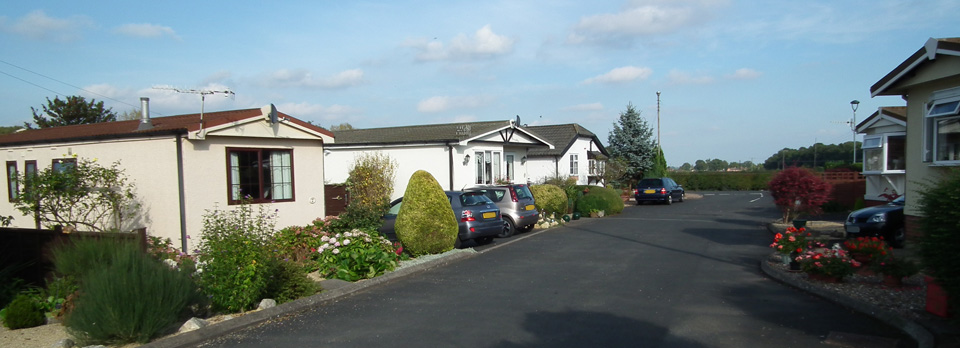 Example of Residential Homes on Oakmere Residential Park