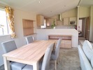 Willerby Clearwater on Oakmere Park, dining area